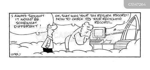 admittance cartoon