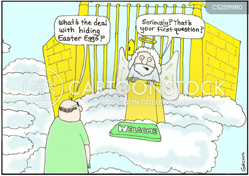 easter traditions cartoon
