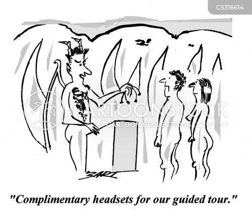 toured cartoon