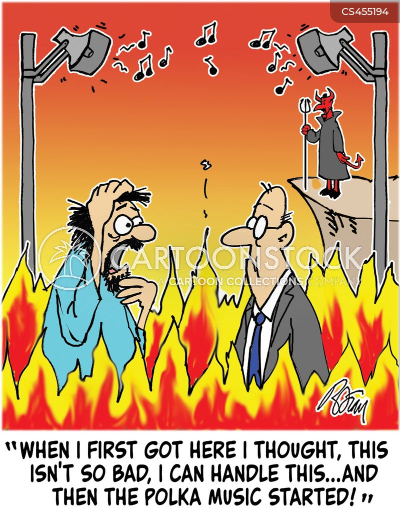 hellfire cartoon