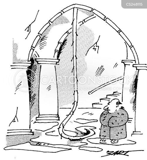 bell pulls cartoon