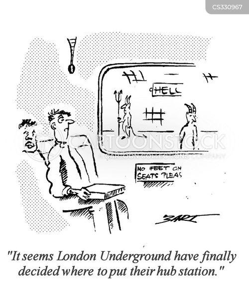 hub station cartoon