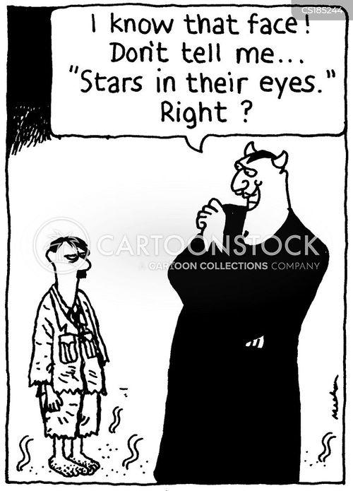 stars in their eyes cartoon
