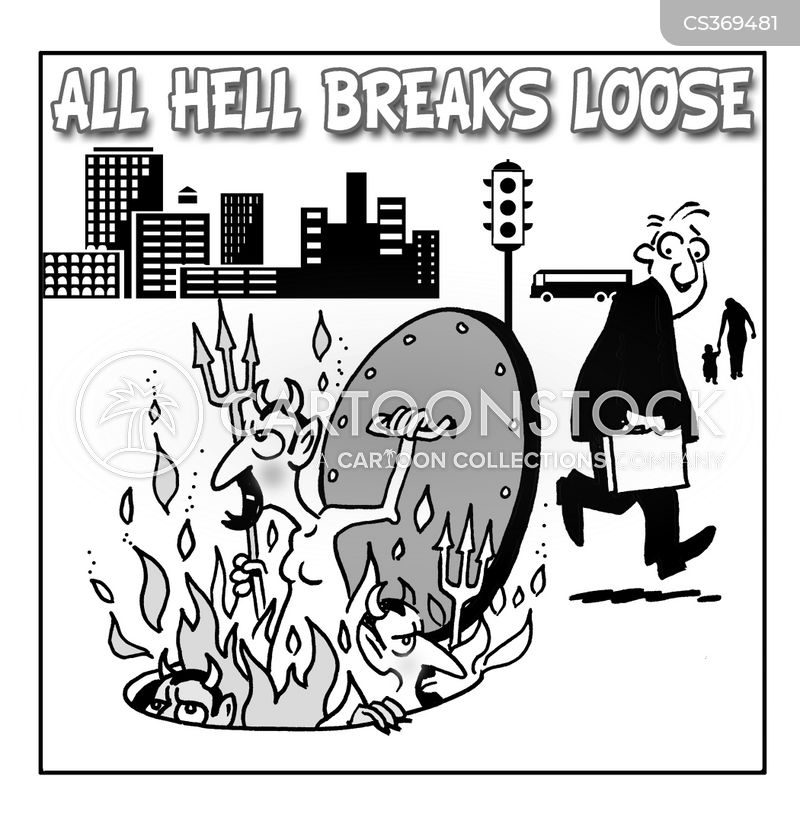 breaking lose cartoon