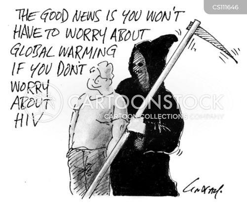 aids cartoon