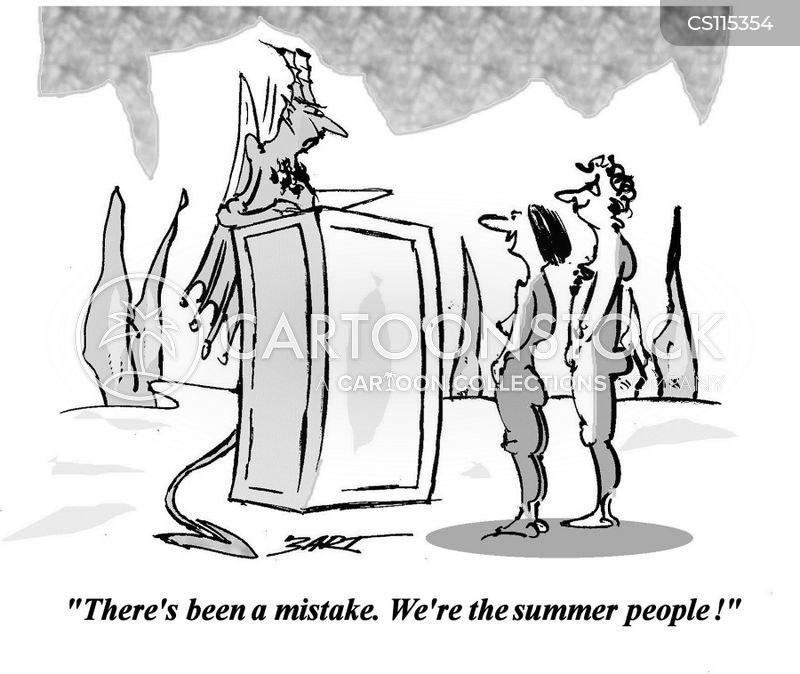 summer people cartoon