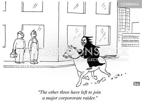 horseman cartoon