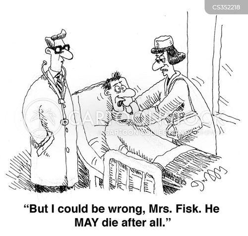 strangulation cartoon
