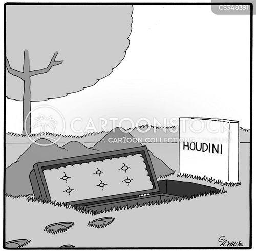 harry houdini cartoon