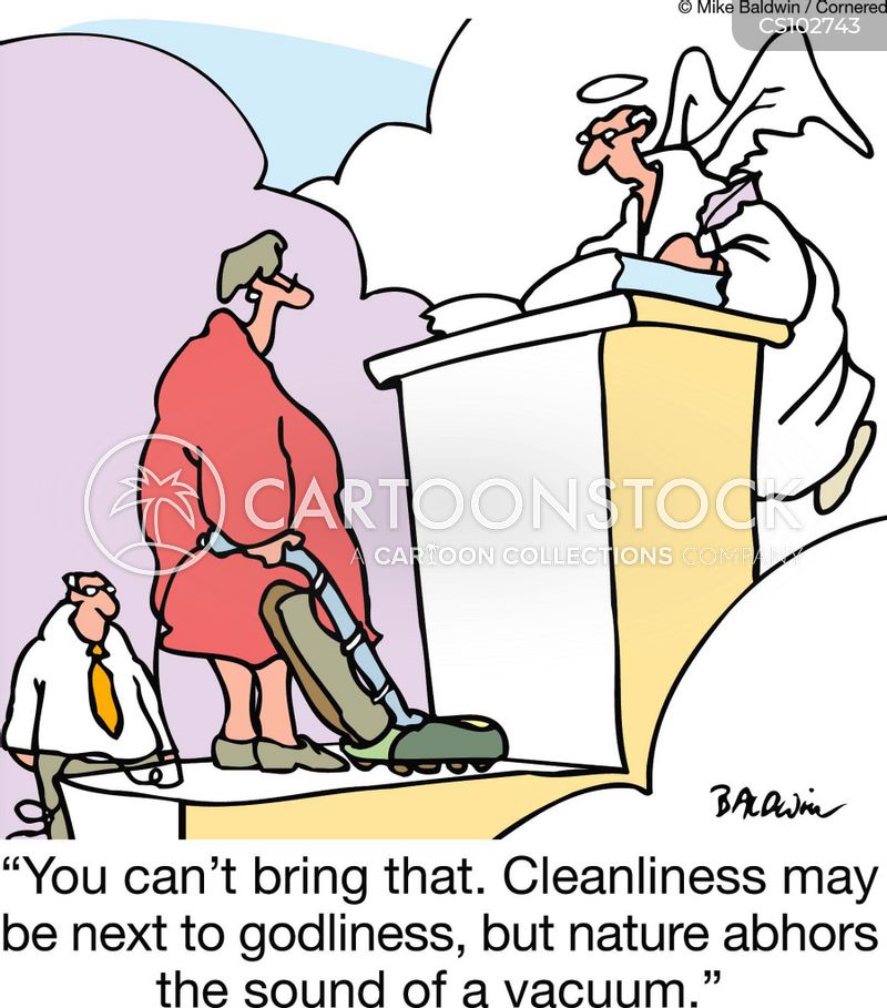 Cleanliness Is Next To Godliness Cartoons And Comics  Funny  Cleanliness Is Next To Godliness Cartoon  Of