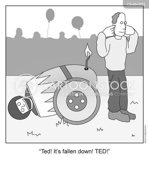 canonball cartoon