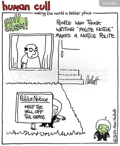 human cull cartoon