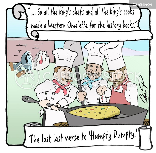 omelet cartoon
