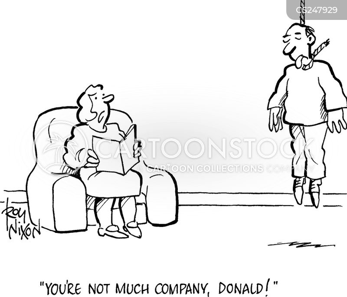 unobservant cartoon