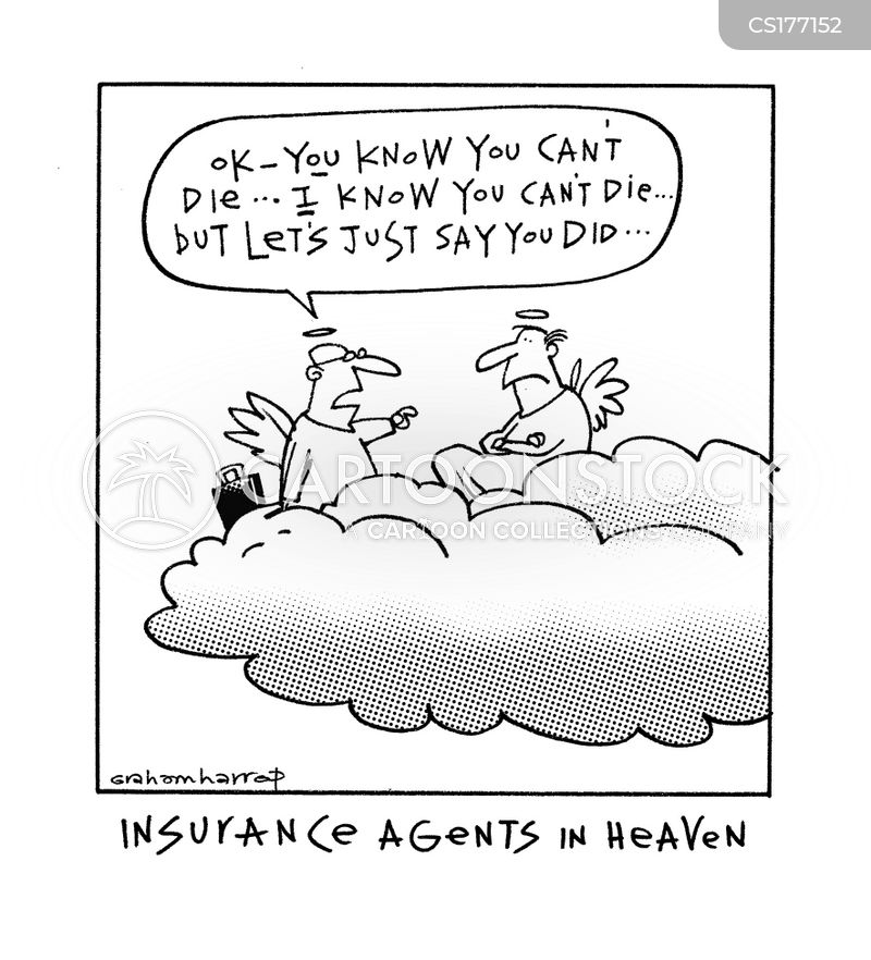 insured cartoon