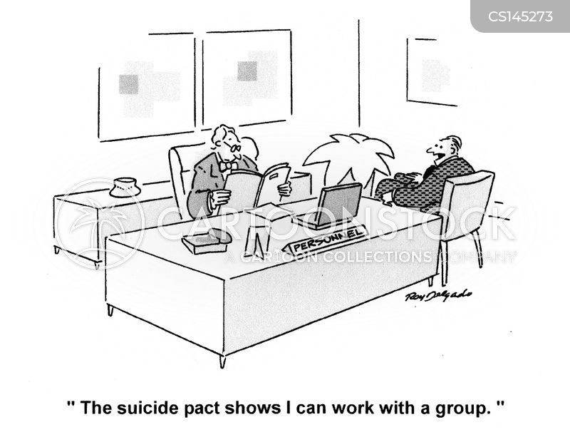 suicide pacts cartoon