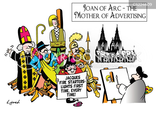 joan of arc cartoon