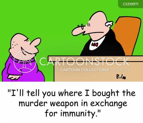 plea bargaining cartoon