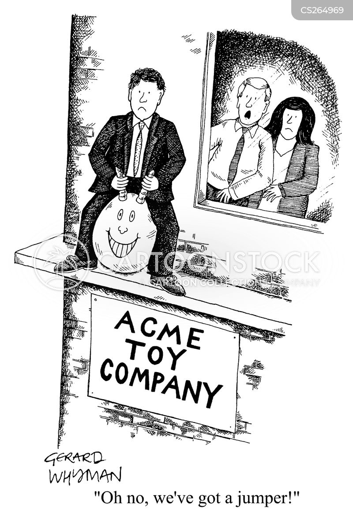 toy companies cartoon