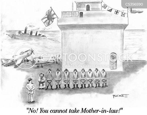 kamikaze cartoon