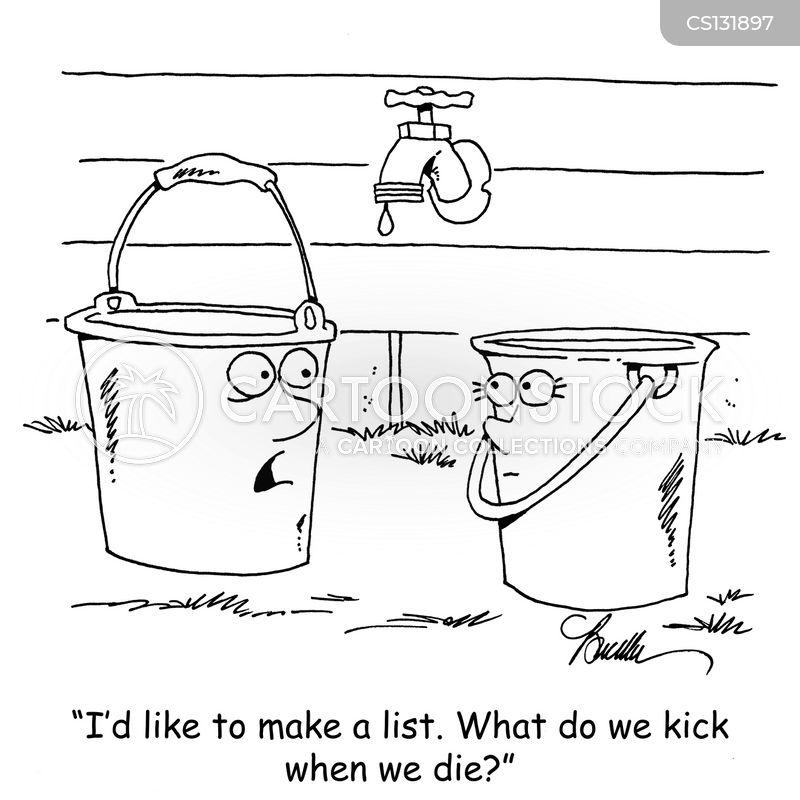 Bucket Lists cartoons, Bucket Lists cartoon, funny, Bucket Lists picture, Bucket Lists pictures, Bucket Lists image, Bucket Lists images, Bucket Lists illustration, Bucket Lists illustrations
