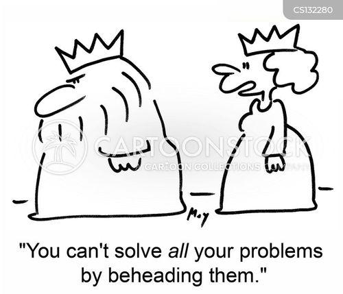 beheads cartoon