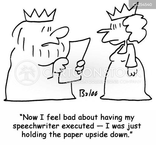 speechwriter cartoon