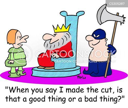 make the cut cartoon
