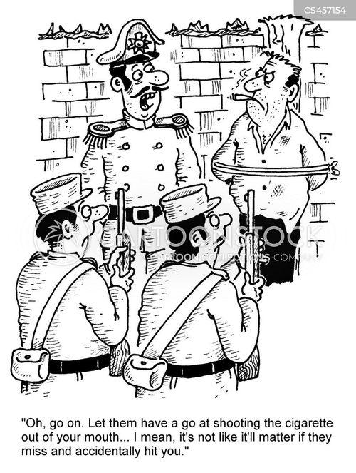 marksmanship cartoon