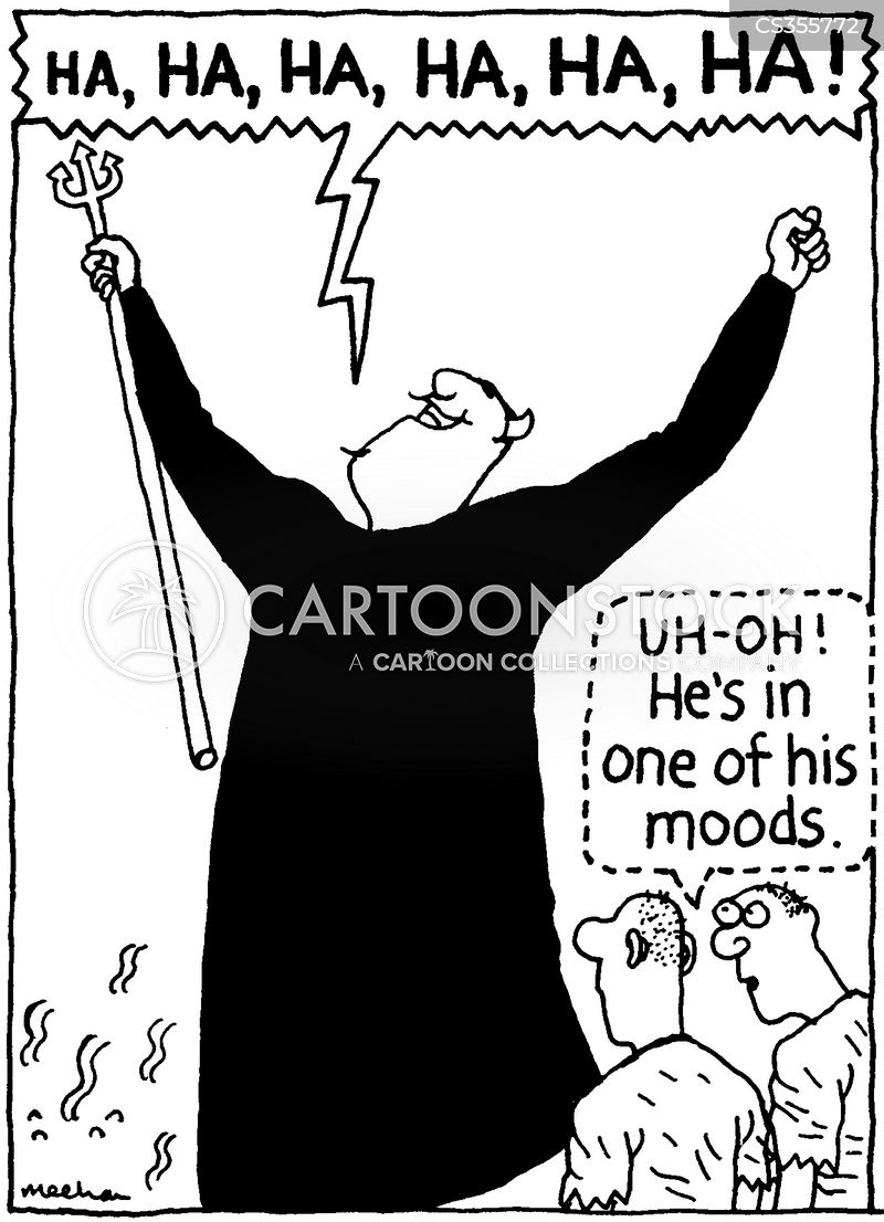 Evil Laugh Cartoons and Comics - funny pictures from