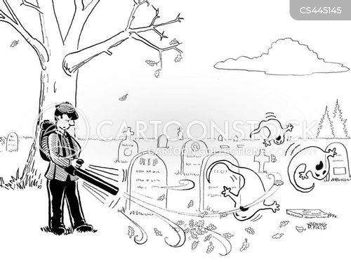 maintenance staff cartoon