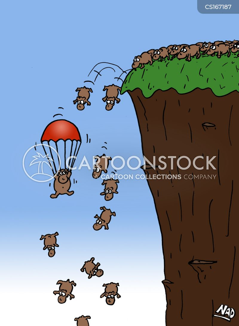 Image result for the rodents that jump the cliff