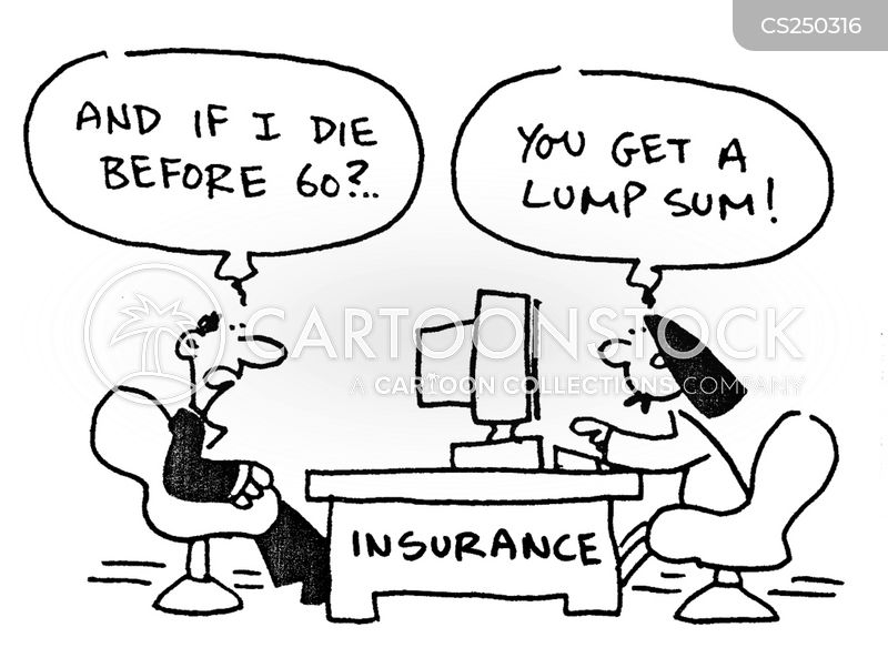 life insurances cartoon
