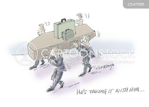 pall bearers cartoon