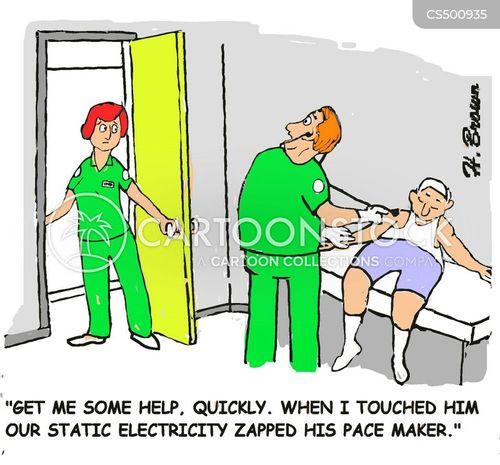 pace maker cartoon