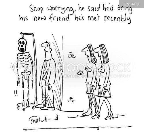 meet up cartoon