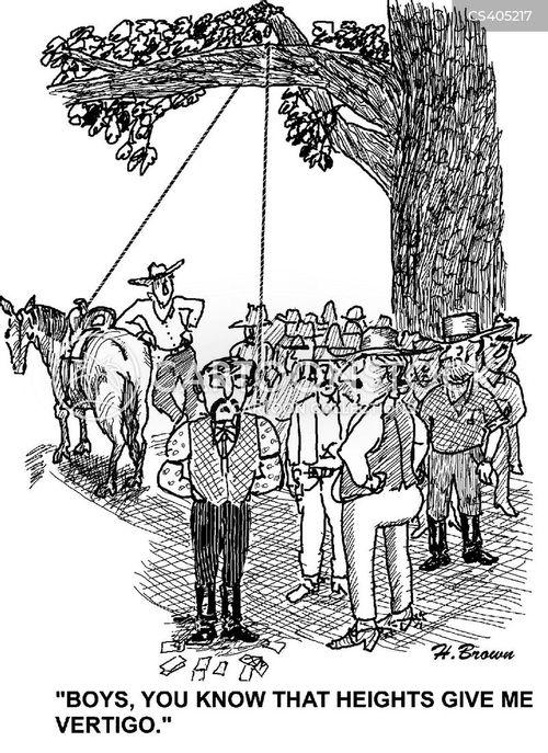 height phobia cartoon