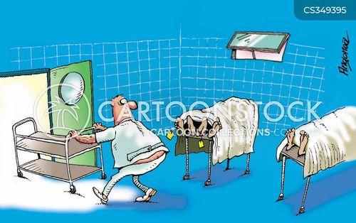 morticians cartoon