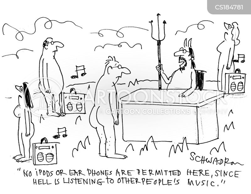 mp3 players cartoon