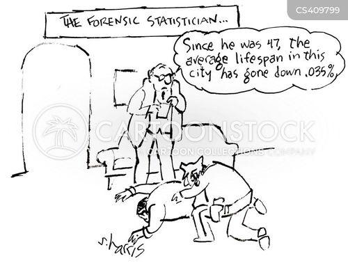 forensic scientist cartoon