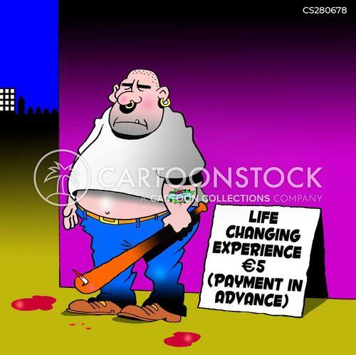 life affirming cartoon