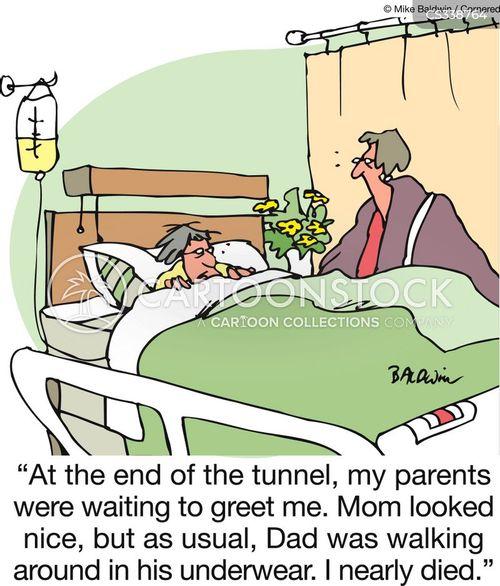 near death experiences cartoon