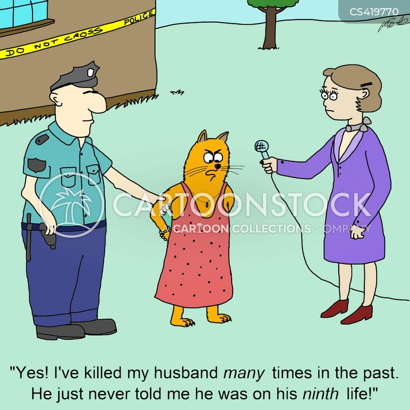 homicidal cartoon