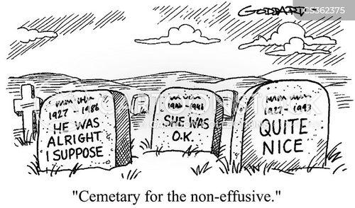 non-effusive cartoon