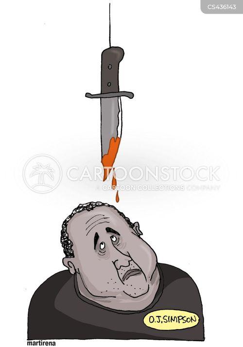 murder weapon cartoon