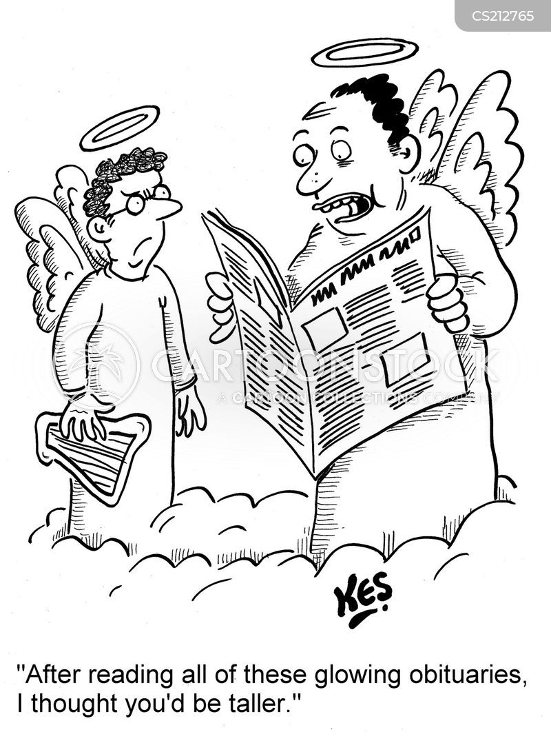 dearly departed cartoon