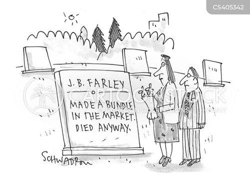 grave stone cartoon