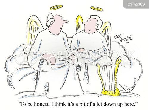 discontented cartoon