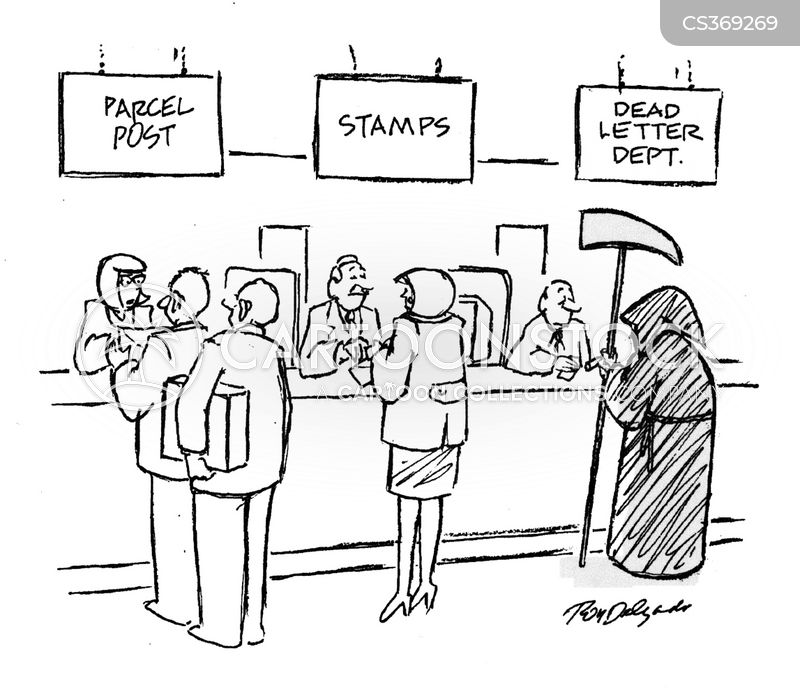 Post Service: Lost Letter Cartoons And Comics