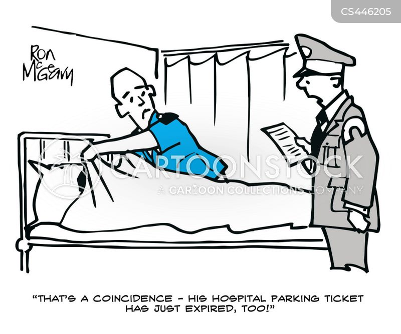 ticketed cartoon